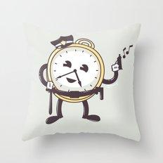 TimeCop Throw Pillow