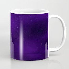 Purple Ship Coffee Mug