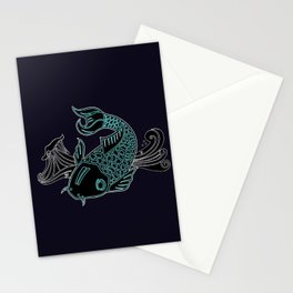 Little Lucky Koi Stationery Cards