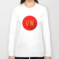 vw bus Long Sleeve T-shirts featuring VW by Barbo's Art