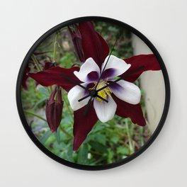Mountain Flower Wall Clock