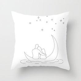 Honeymoon Throw Pillow