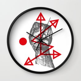 DKMU - Resistance against consensual reality Wall Clock