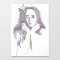 crown Canvas Prints featuring Crown by Ivanna Stefanova