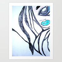 self confident Art Print