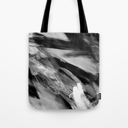 Abstract Artwork Greyscale #1 Tote Bag