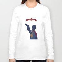 bioshock Long Sleeve T-shirts featuring Bioshock Infinite by Spiritius
