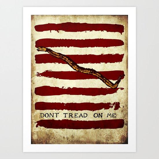 Navy Jack Art Print