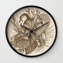 Nuthatch - Original Wall Clock