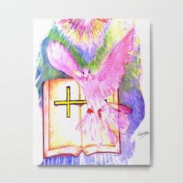 THE HOLY BIBLE Metal Print