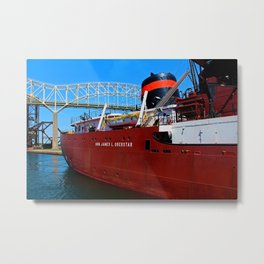 Hon James Oberstar II Metal Print