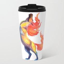 fire horse 2 Metal Travel Mug