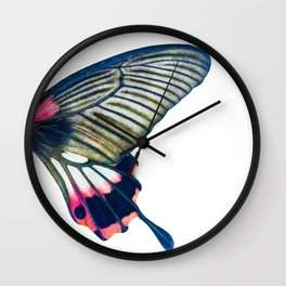 Butterfly right wing - find the left wing in my store :) Wall Clock