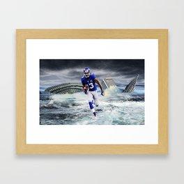 "OBJ Design ""Running Through the Storm"" Framed Art Print"