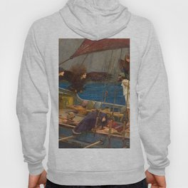 John William Waterhouse Ulysses and the Sirens 1891 Hoody