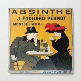 Vintage poster - Absinthe Metal Print