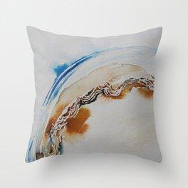 Curvature Throw Pillow