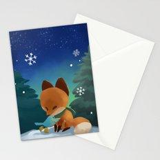Fox & Boots - Winter Hug Stationery Cards