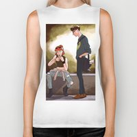 scully Biker Tanks featuring Hey Scully... by Jena Young