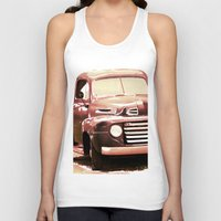 truck Tank Tops featuring Old Truck by Regan's World