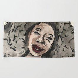 Smile Beach Towel