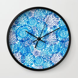 Microorganisms Wall Clock