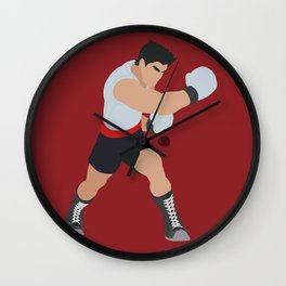LITTLE MAC(SMASH)RED Wall Clock