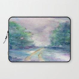 Haunted Lane Laptop Sleeve