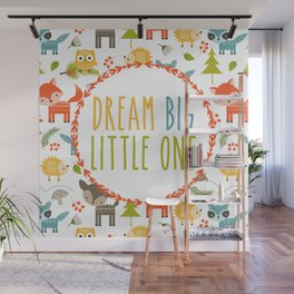 Dream Big Little One - Woodland Wall Mural