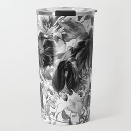 New Skull Light B&W Travel Mug