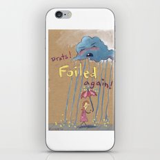 Best Laid Plans of Clouds and Rain iPhone & iPod Skin