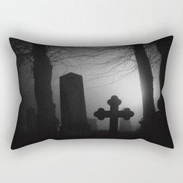 Where spirits wander Rectangular Pillow