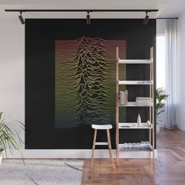Joy Division - Unknown Tropical Pleasures Wall Mural