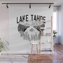 Lake Tahoe - We Who Wander Threads Wall Mural