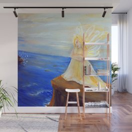 Invite your Angel | Angels are here Wall Mural