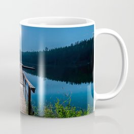 Bright Night Sky at British Columbia Coffee Mug