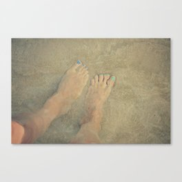 Summer friends Canvas Print
