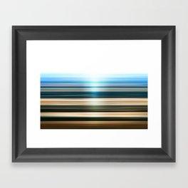 Canyon Stripes Framed Art Print