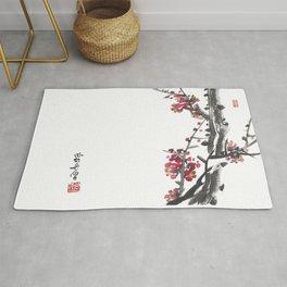 Plum Blossom Two Rug