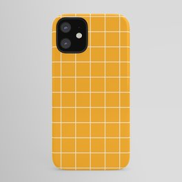 Marigold Grid iPhone Case
