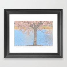 My Favorite Flower Framed Art Print