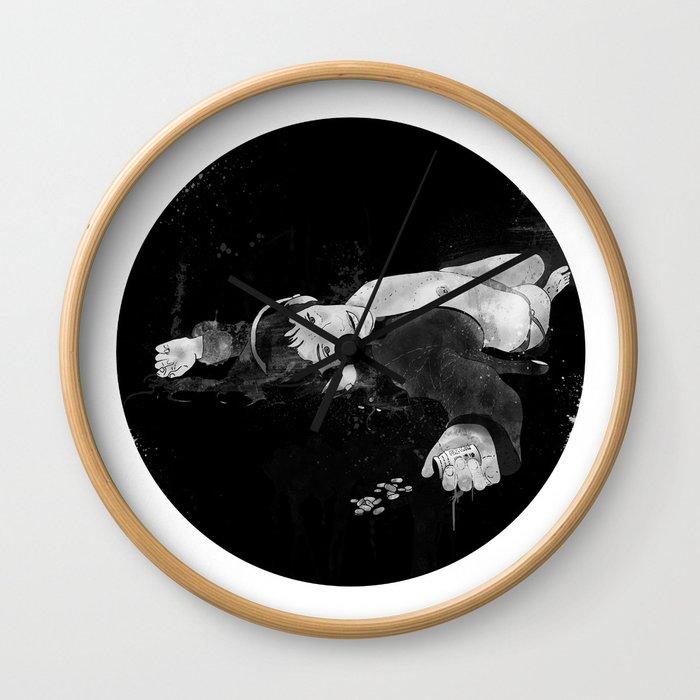 Sleepills Wall Clock
