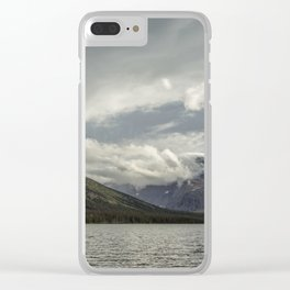Breakthrough at Lake Josephine Clear iPhone Case