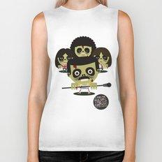 queen zombies Biker Tank