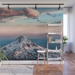 Mountain Sunset - Nature Photography Wall Mural