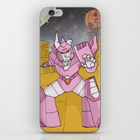 transformers iPhone & iPod Skins featuring Transformers - Cyclonus by Demonology7789