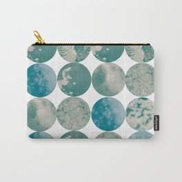 Ice circle pattern Carry-All Pouch