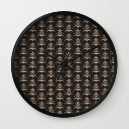 Abstract vintage pattern 1 Wall Clock
