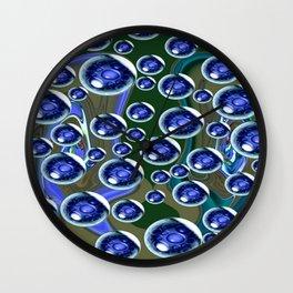 Crystal Spring Wall Clock