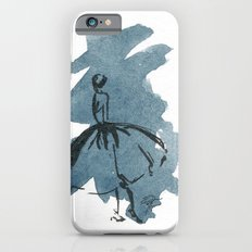 Retro Chic Runway Dress 2 Feminine Fashion Illustrations iPhone 6 Slim Case